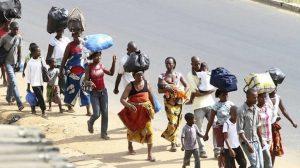 Déplacés de la crise anglophone - image des déplacés