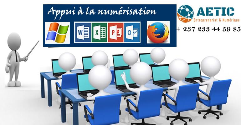 Intégration du numérique et formation à l'informatique