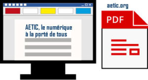 Bureautique, convertir word vers PDF