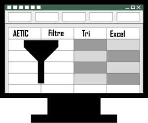 Excel filtre et tri