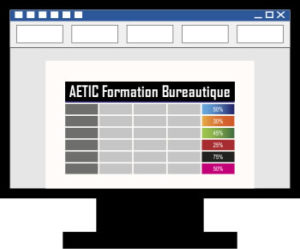 Formation bureautique tableau word