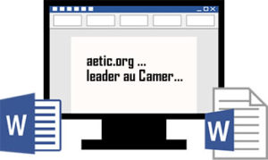 Interface de word formation cameroun
