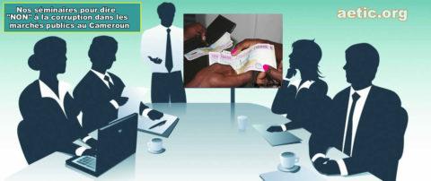 Corruption dans les marchés publics au Cameroun
