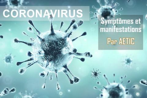 symptômes du coronavirus