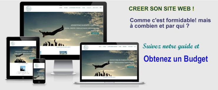 Coût site web Cameroun Afrique