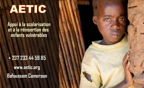 Enfants vulnérables au Cameroun